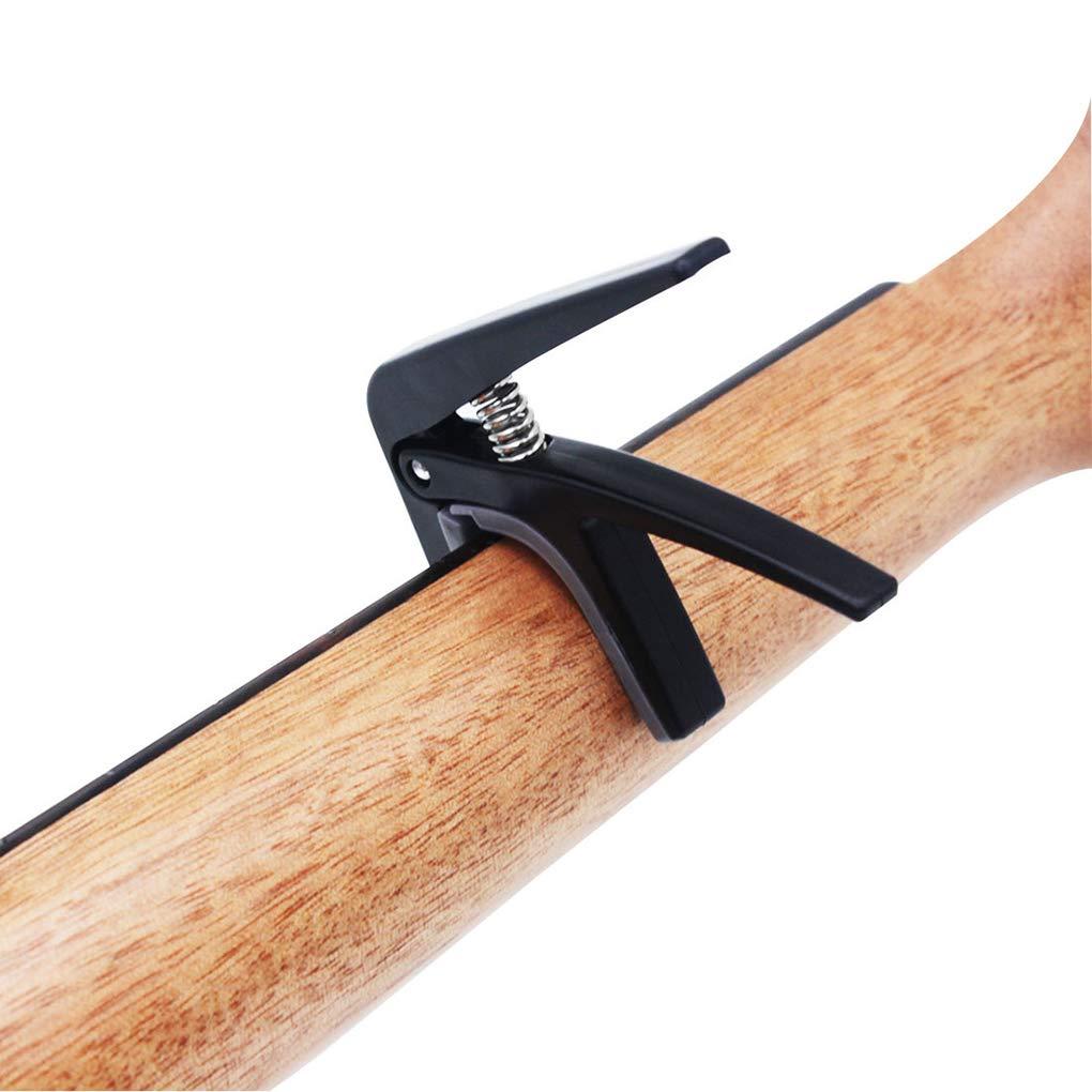 Laileya Instrument de musique Accessoires pour d/ébutants Capo acoustique Ukul/él/é petite guitare Ukulele Tonal Modification