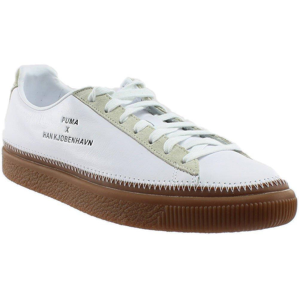 PUMA Unisex x Han Kjobenhavn Basket Stitched Sneaker B06Y39XF67 13 D US|Puma White