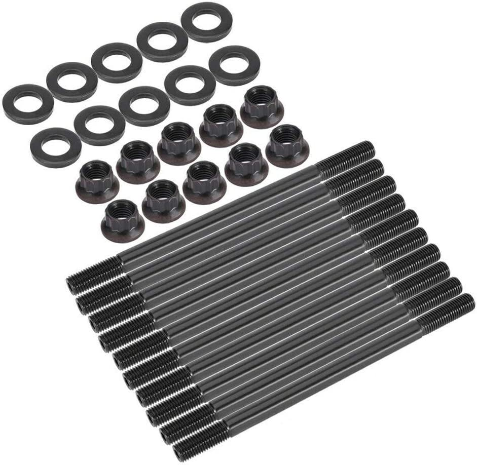 208-4301 High Performance 12-Point Cylinder Head Stud Kit Fit for Honda Civic 1.6L D16Z6