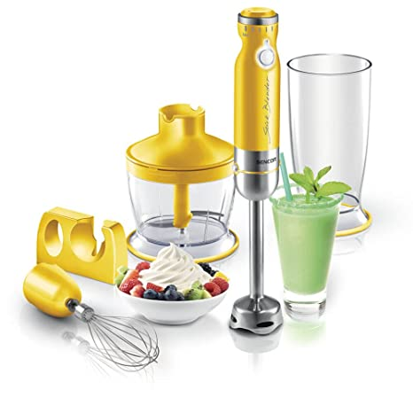 Amazon.com: Batidora de mano color: Sólido Amarillo: Kitchen ...