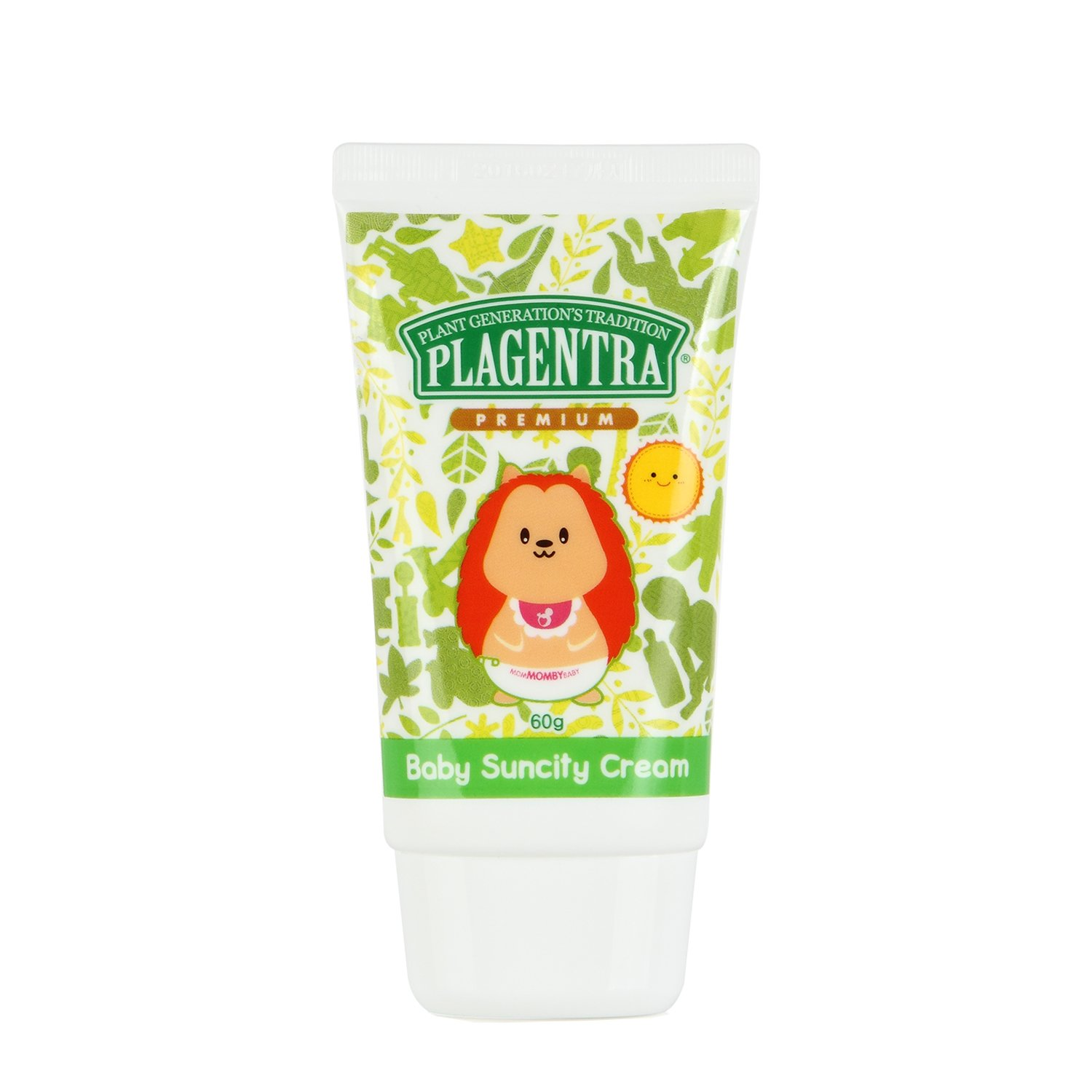 PLAGENTRA Baby Suncity Cream (SPF 36 / PA++) - Natural Sunscreen, 2.11 Ounce Winnova Co. LTD. 1405060