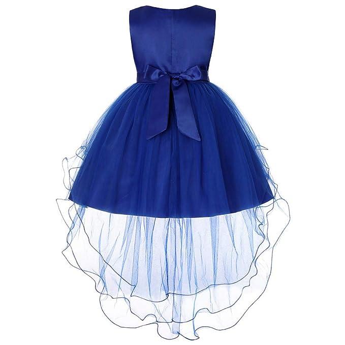 afe03a5cc Vestido Princesa Niña 1-9 Años - Logobeing Ropa Bebe Bowknot Princesa Boda  Rendimiento Tutu Vestido Formal Ropa: Amazon.es: Ropa y accesorios