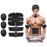 Abs Stimulator for Men and Women, Abdominal Toning Belt Muscle Toner Portable Muscle Trainer for Abdomen/Arm/Leg Training