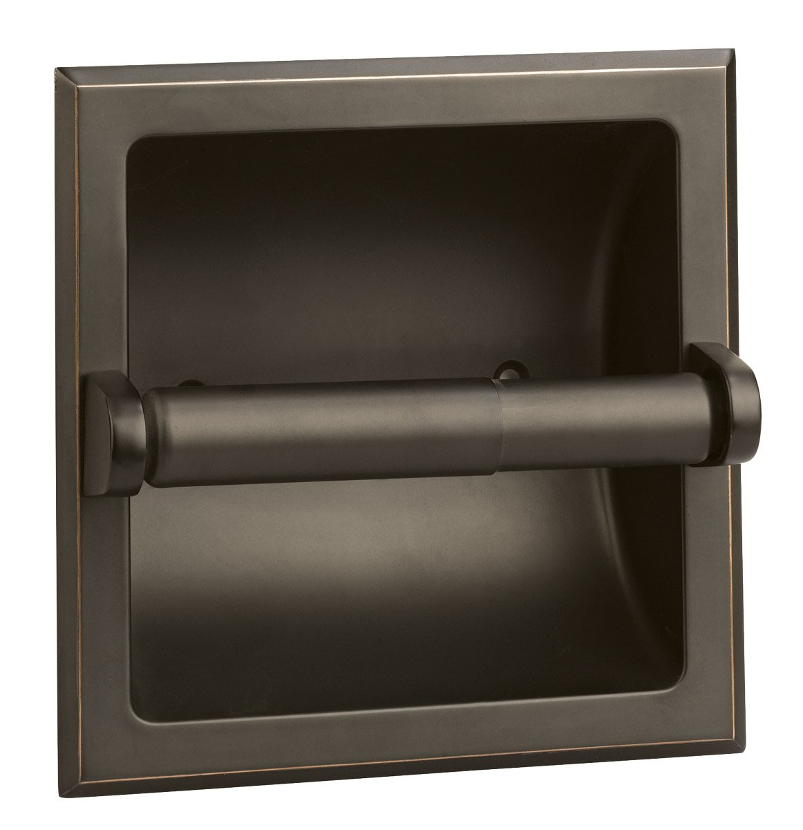 Design House 539254 Millbridge Recessed Toilet Paper Holder, Oil Rubbed Bronze