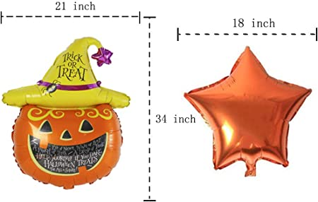 MC TTL Halloween Party Decoration Adult Party,Gifts Inflatable Balloonsloon set decoration Halloween Party Balloons
