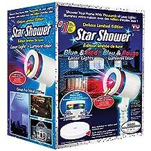 Star Shower BLUE & RED Laser Light - Deluxe Limite
