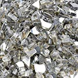 Stanbroil 10-Pound 1/4 Inch Fire Glass for Fireplace Fire Pit Bronze Reflective