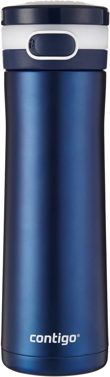 Contigo Glacier Stainless Steel Water Bottle, 20oz, Monaco