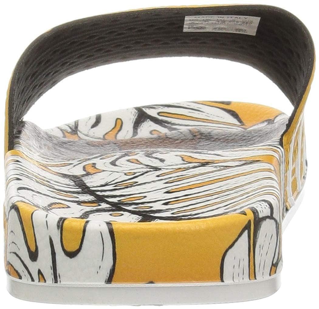 adidas Unisex-Erwachsene Originals ADILETTE Bade Sandalen Craft Gold/Off White/Craft Gold