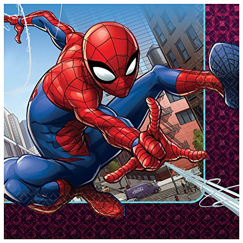 Morris Costumes Spider Man Lunch Napkins -