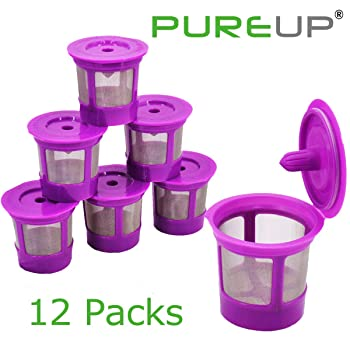 PUREUP 12 packs Reusable K-Cup