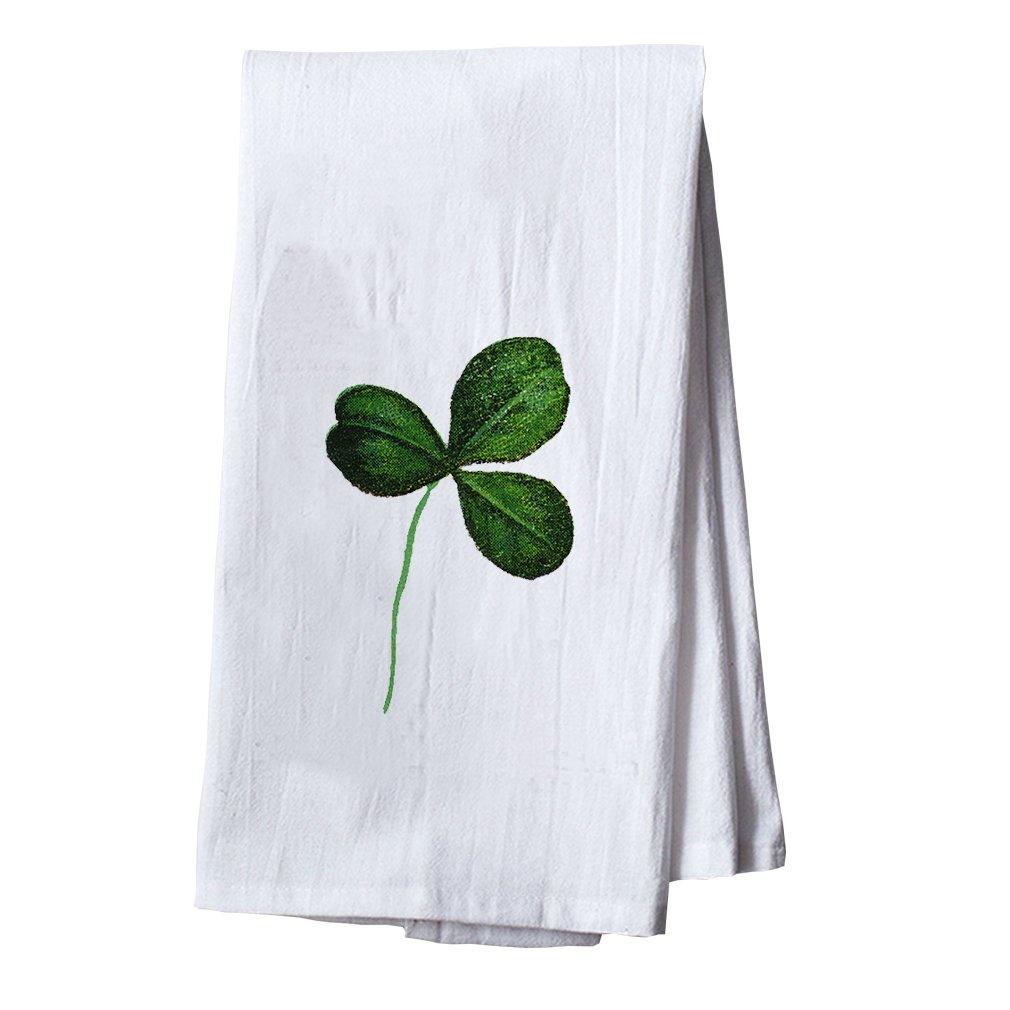Style In Print Green Shamrock St Patricks Dish Flour Sack Kitchen Towel