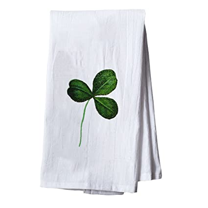 Amazon Com Style In Print Green Shamrock St Patricks Dish Flour