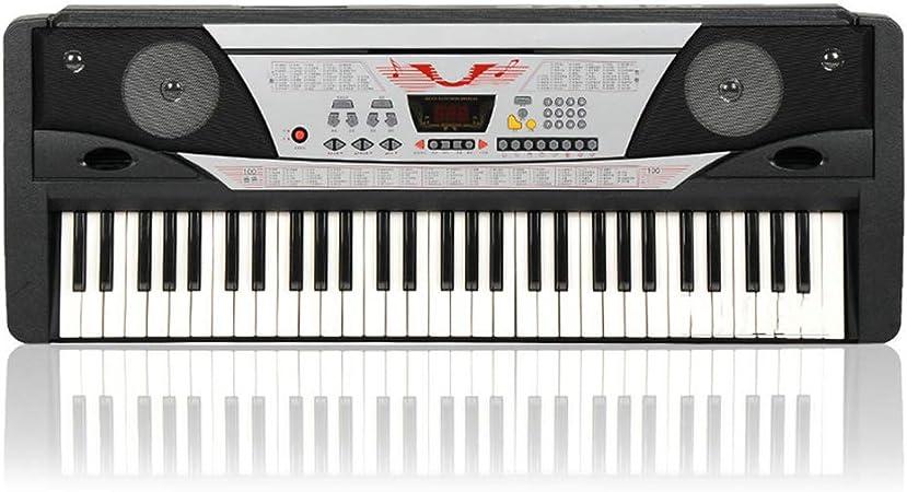 Piano de teclado, 61 teclas, multifunción, tipo de enseñanza ...