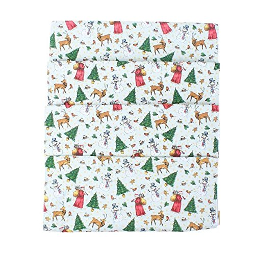 Milly Animal (Milly Green Merry Little Christmas Design Cotton Table Runner)