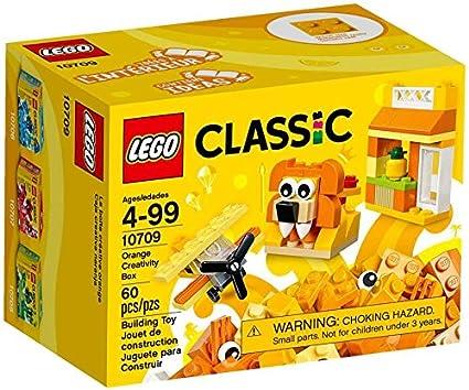 LEGO Classic Caja creativa de color naranja
