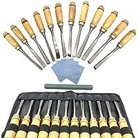 Aisamco Kits de herramientas para tallado de madera