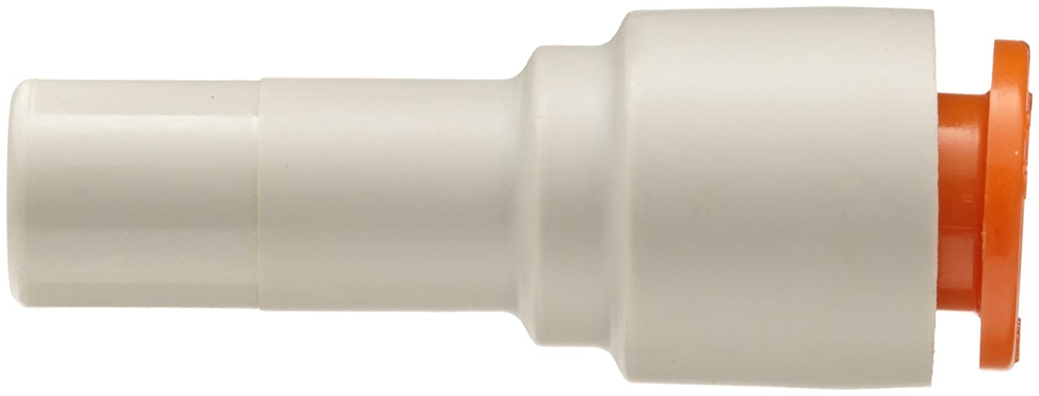 Plug-in Reducer SMC KQ2R07-11A PBT Push-to-Connect Tube Fitting 1//4 Tube OD x 3//8 Fitting Size