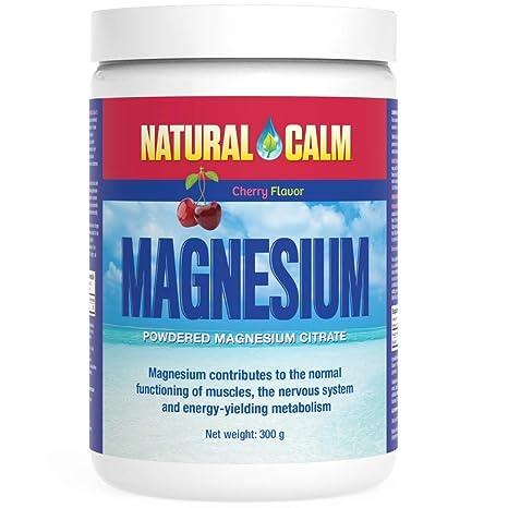 Natural Vitality Natural Cam Magnesio Para Estrés Cereza 300 g