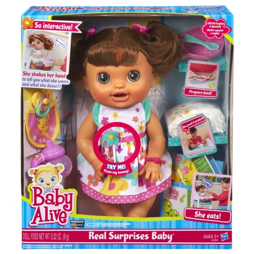 Baby Alive Real Surprises Baby Doll Discontinued By