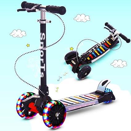 DWW-Scooters para niños Patinete para niños con patas ...