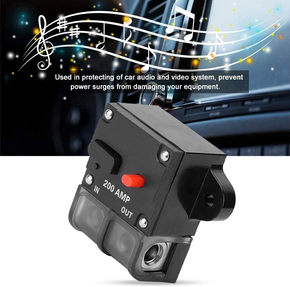 200A KSTE 12-42 VDC Heavy Duty Car Auto-Reset Inline Circuit Breaker Self-Recovery-Sicherung