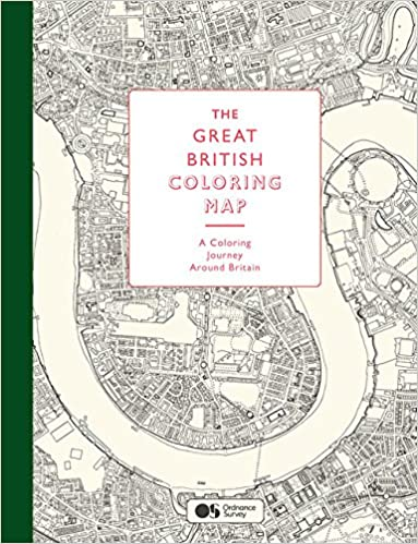 Amazon.com: The Great British Coloring Map: A coloring journey ... on