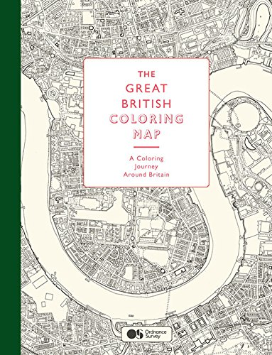 The Great British Coloring Map: A coloring journey around Britain pdf epub