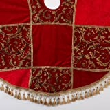 "Christmas Ltd 54"" Tapestry Patchwork Tree Skirt"
