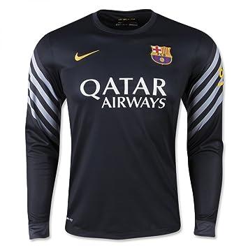 7fdeb49171 Nike - Camiseta de Portero FC Barcelona 2015-2016  Amazon.es  Deportes y  aire libre