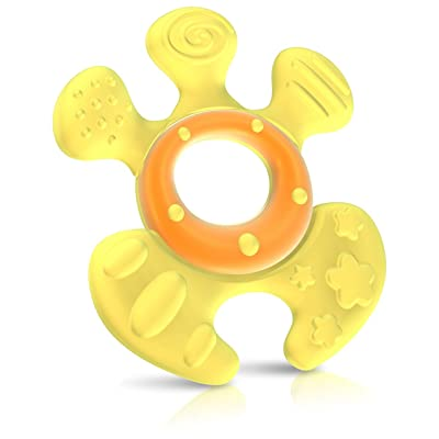 Nuby Natural Touch Softees Teether, Colors May Vary (Discontinued by Manufacturer): Baby [5Bkhe0702513]