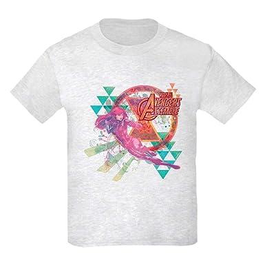 Amazon Com Cafepress Black Widow Kids Light T Shirt Kids T