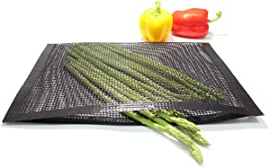 Bluedrop Large BBQ Mesh Bags Non Stick Toaster Baking Bags Barbecue Mat Outdoor Picnic Tool 30x40CM Pack of 2