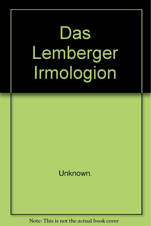 Read Online Das Lemberger Irmologion pdf