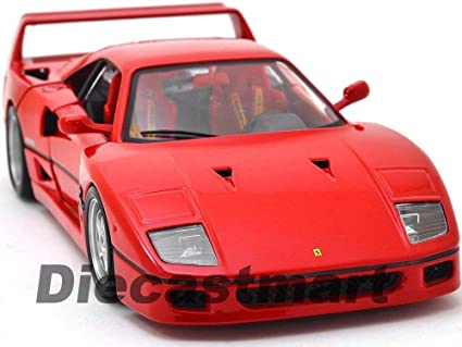 Amazon.com: Ferrari F40 RED Original Series 1:18 DIECAST ...