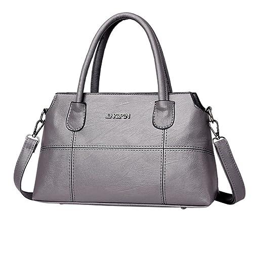 409c1cb675a9cb Damen tasche sale, Frashing Mode Frauen Leder Splice Handtasche  Schultertasche Crossbody Tasche Tote Bag Retro