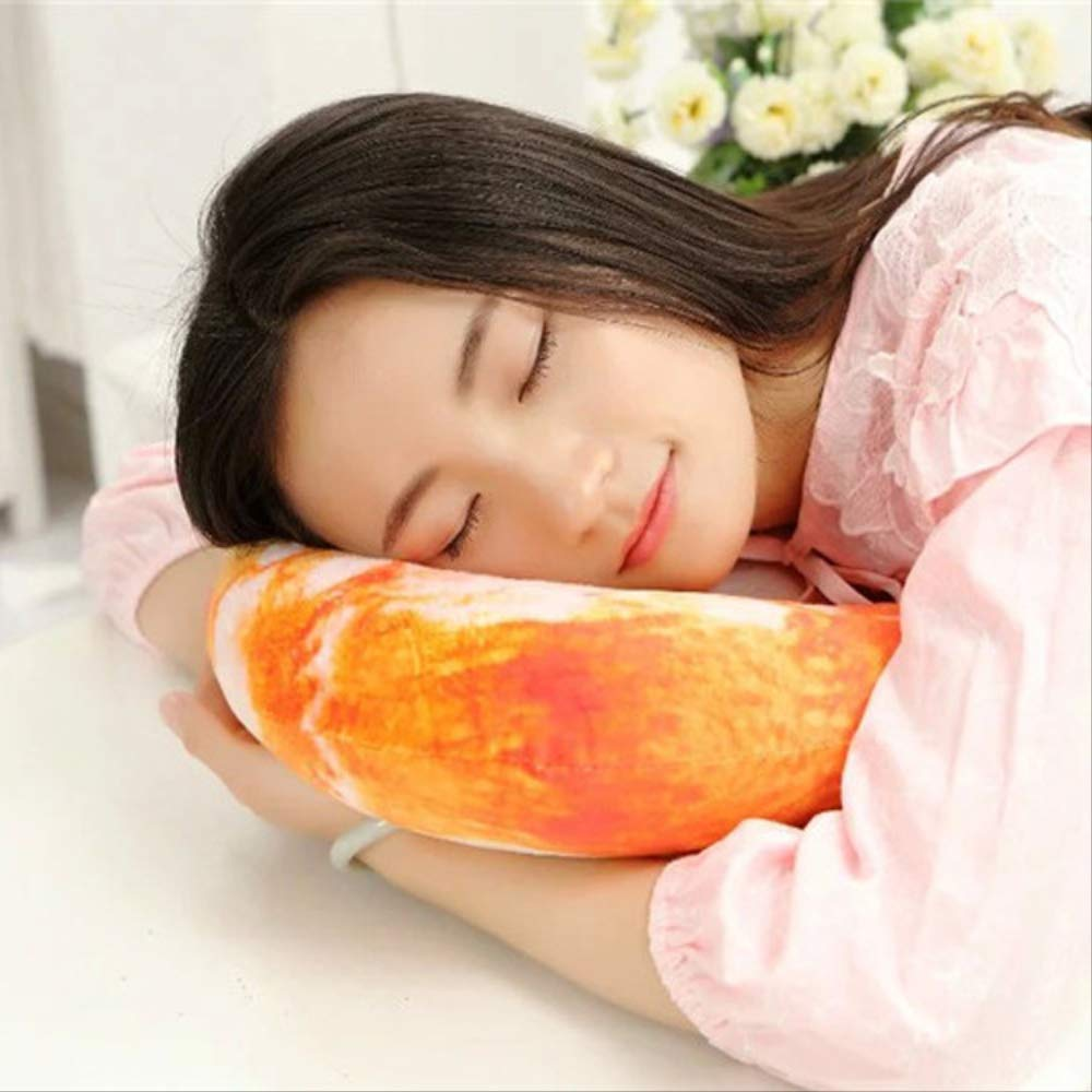 Juguete De Felpa Almohada En Forma De U Almohada De Cuello De Estilo Creativo Almohada De Siesta para Dormir 40 40cm Berenjena