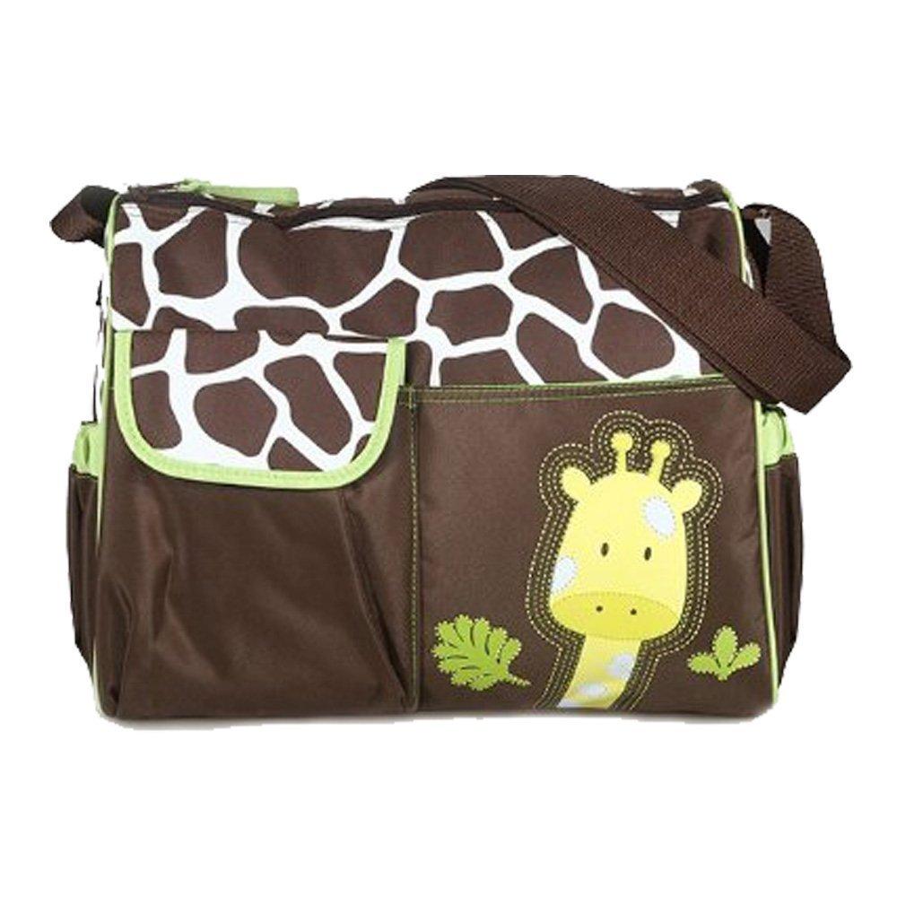 adoraland Multifunktional Mama Handtasche Baby Wickeltasche - Giraffe Muster Pixnor STK0112011064