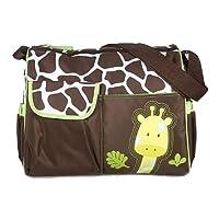 Sacs à Langer Sacs à Couches Multifonctionnel pour Maman Motif de Girafe