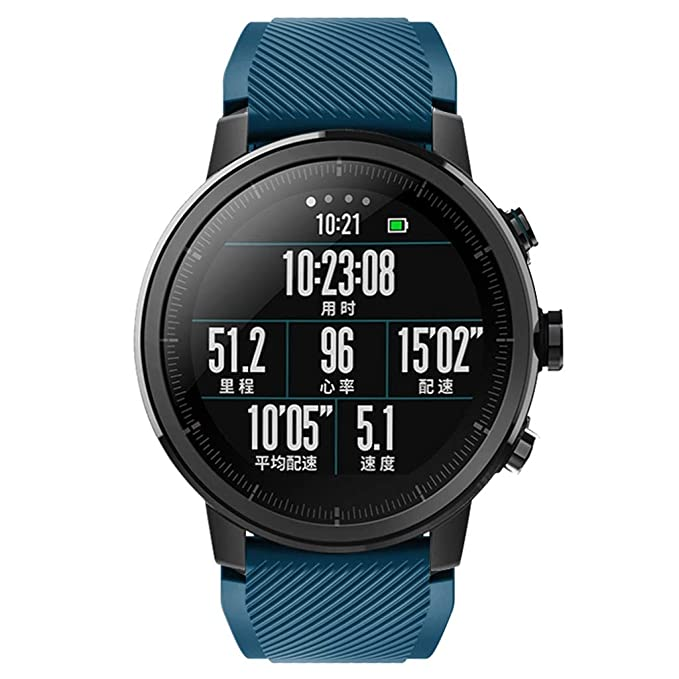 ❀para Amazfit Stratos Smart Watch 2S, RTUROM Correa de Reloj Suave de Silicona Banda Deportiva: Amazon.es: Ropa y accesorios