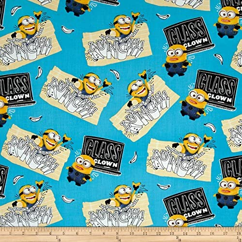 Fabric Minion/'s Cotton by Quilting Treasures Fabric by the Yard
