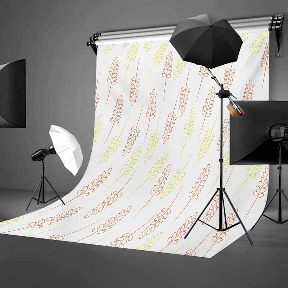 Swirled Floral Background with Damask Curl Branches and Leaves Print Background for Child Baby Shower Photo Vinyl Studio Prop Photobooth Photoshoot Dragonfly 8x10 FT Photography Backdrop