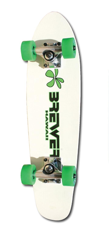Brewer Old School Fiberglass Complete Skateboard