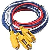 TOOGOO 1.5M/ 2.5M/3.5M (Un Grupo De 3 Colores) Controlador De Nivel De Agua, Controlador De Nivel Tres Sonda Cabeza Del…