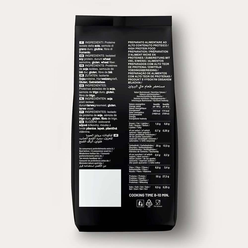 Pasta Young High Protein 55% Fusilli, 250 g Beutel: Amazon.es ...