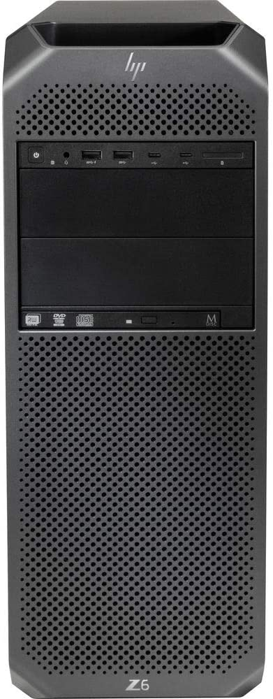 HP Z6 G4 Series Tower Workstation - 2.1Ghz Intel Xeon Silver 4116 12-Core - 32GB - 512GB SSD +1TB HDD - Quadro P4000 - Windows 10 pro for WS