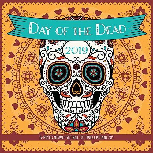 Day of The Dead 2019 Wall Calendar