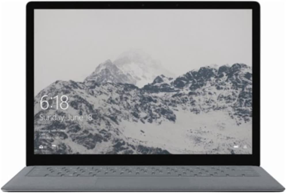 "Microsoft - Surface 13.5"" Touchscreen Laptop :Intel Core m3-7Y30, 4GB Memory,128GB Solid State Drive ,Windows 10 S,Platinum"