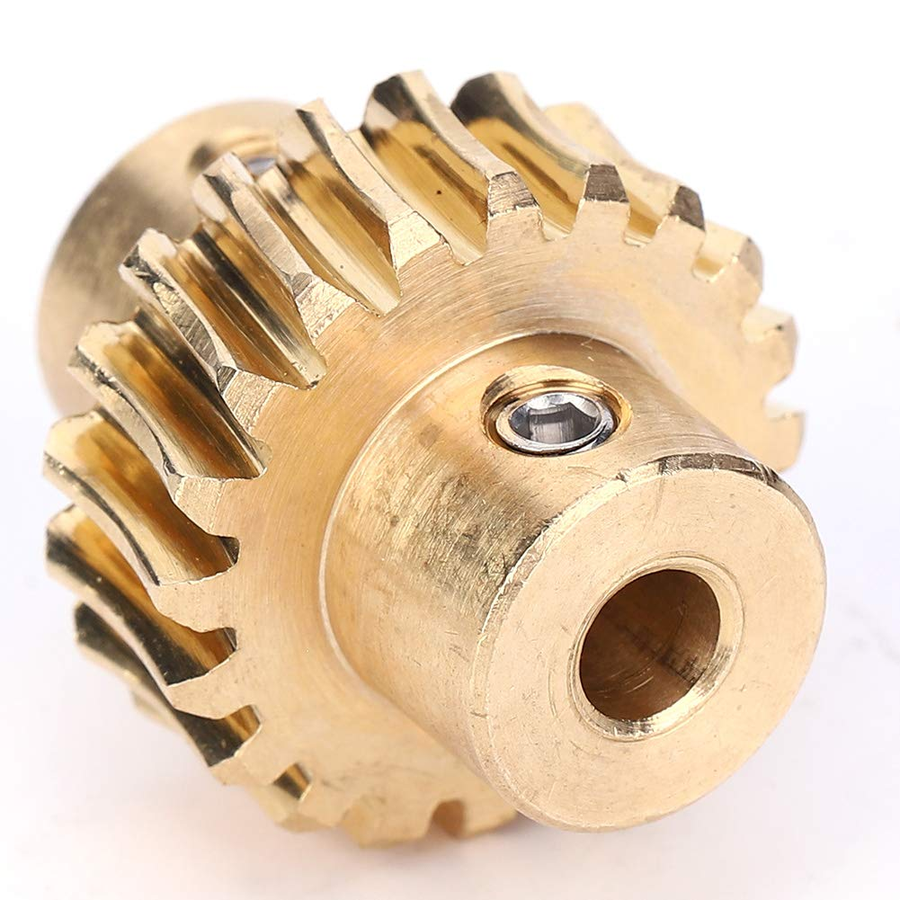 Durable Bronze Worm Gear Small Volume for Robot Industry Robot Long Service Life 10:1 Worm Wheel Worm Gear