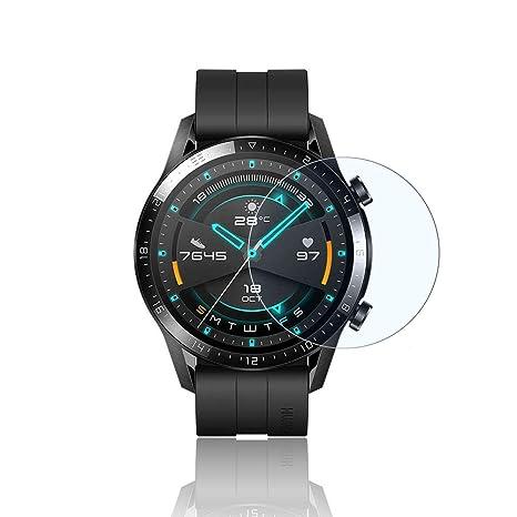 PaceBid 2 Piezas Protector de Pantalla Huawei Watch GT 2 46mm ...